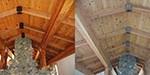 αμμοβολή-ξύλινο-ταβάνι